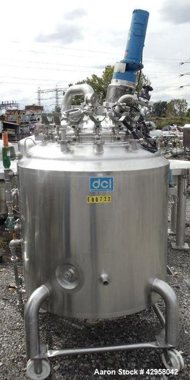 Used- 650 Liter Stainless Steel DCI Reactor Construction
