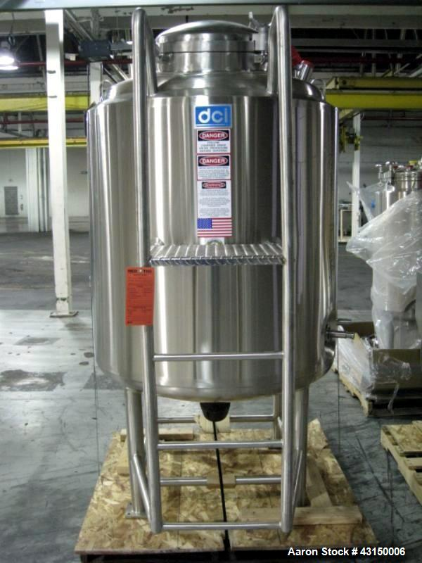 Used- 250 Gallon Stainless Steel Construction DCI Reactor