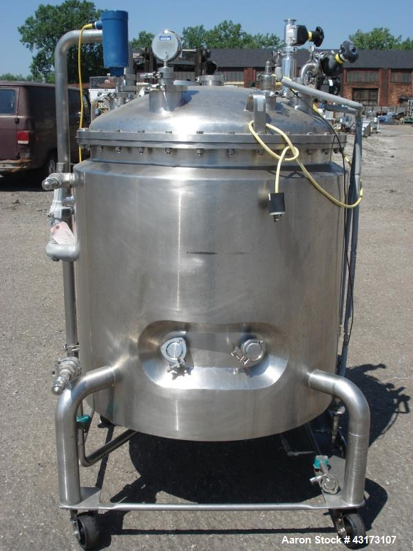 Used- 500 Liter Stainless Steel DCI Reactor