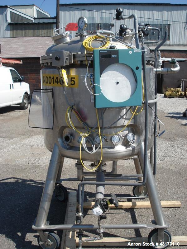 Used- 600 Liter Stainless Steel DCI Reactor