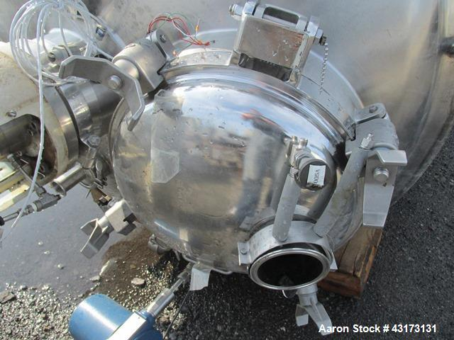 Used- DCI Reactor, 3500 Liter, 316L Stainless Steel, Vertical.