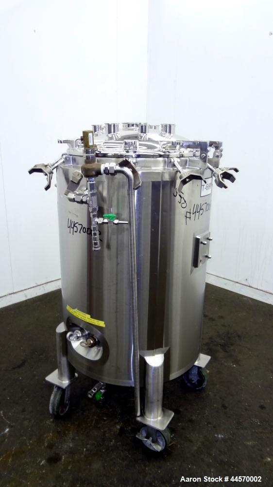 Used- 250 Liter Stainless Steel DCI Reactor