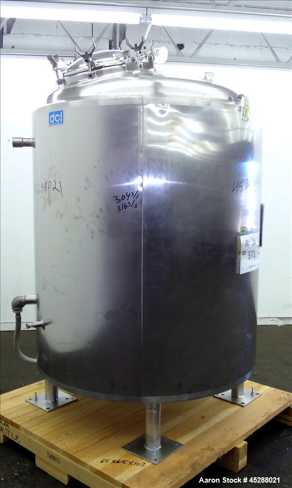 Used- 2000 Liter Stainless Steel DCI Reactor