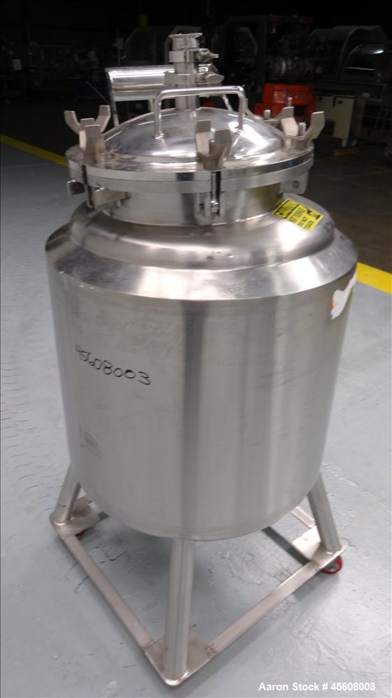 Used- 50 Gallon Stainless Steel DCI Reactor