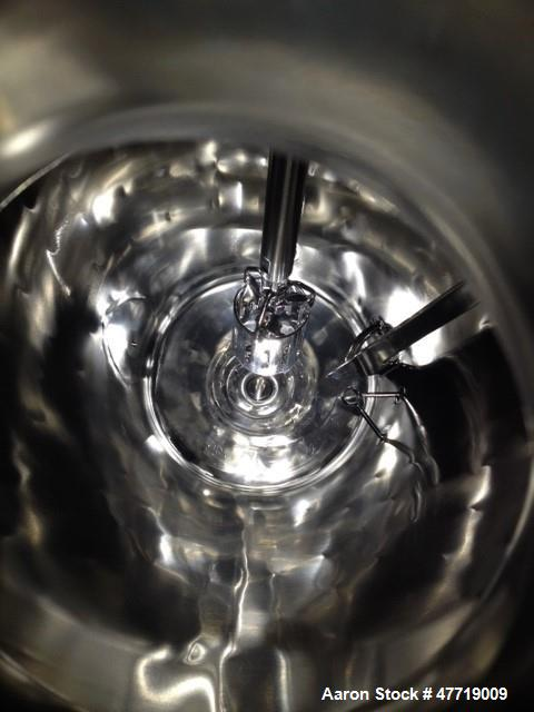 """Used- DCI Reactor, 75 Liter (19.8 Gallon), 316L Stainless Steel, Vertical. 24"""" Diameter x approximate 22"""" deep 30 degree con..."""