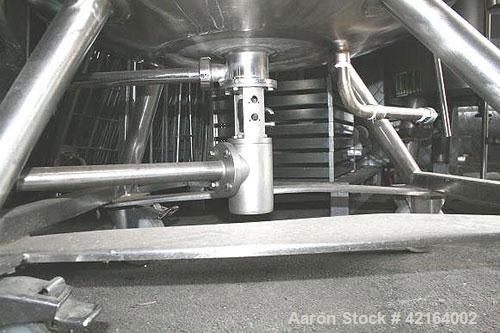 Used- 94 Gallon Stainless Steel Diessel Tank Jacketed