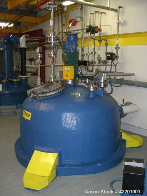 Used- 845 Gallon Stainless Steel Echo Engineering Reactor