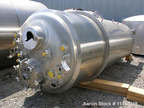 Unused-5000 liter (1320 gallon) Feldmeier reactor. 316L stainless steel construction, 25Ra electro-polished internal finish,...