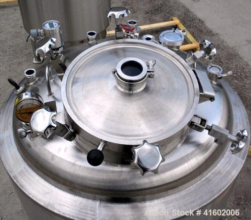 Used- 264 Gallon Stainless Steel Feldmeier Reactor