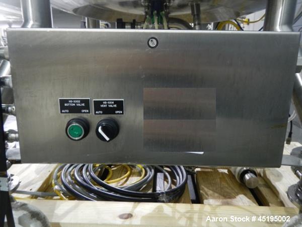 Used- 200 Liter Stainless Steel Feldmeier Reactor