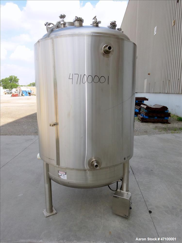 Used- Feldmeier Equipment Reactor, 396 Gallons (1500 Liters)