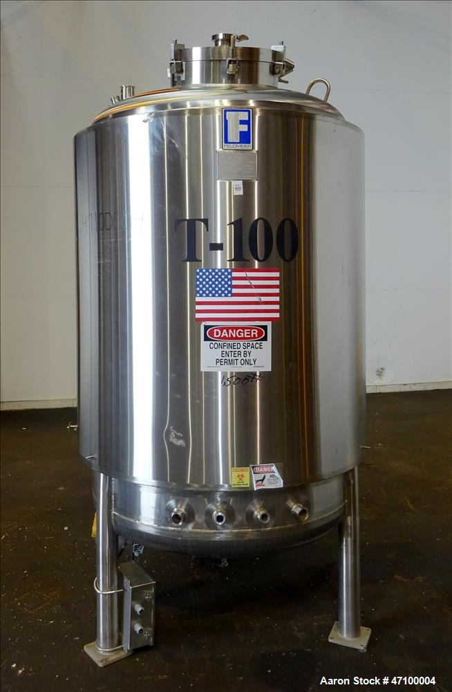 Used- Feldmeier Equipment 396 Gallon Reactor
