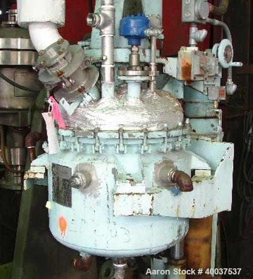 Used- 20 Gallon Stainless Steel G H Hicks and Sons Bench Scale Reactor