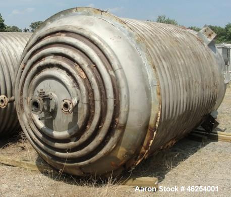 Used- Industrial Alloy Fabricators Reactor, 2,326 Gallon