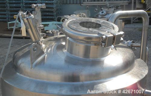 Used- 250 Liter Stainless Steel ITT Industries Reactor