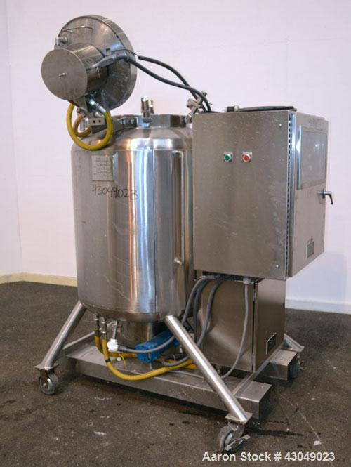 Used- 500 Liter Stainless Steel JV Northwest Pasteurization Reactor