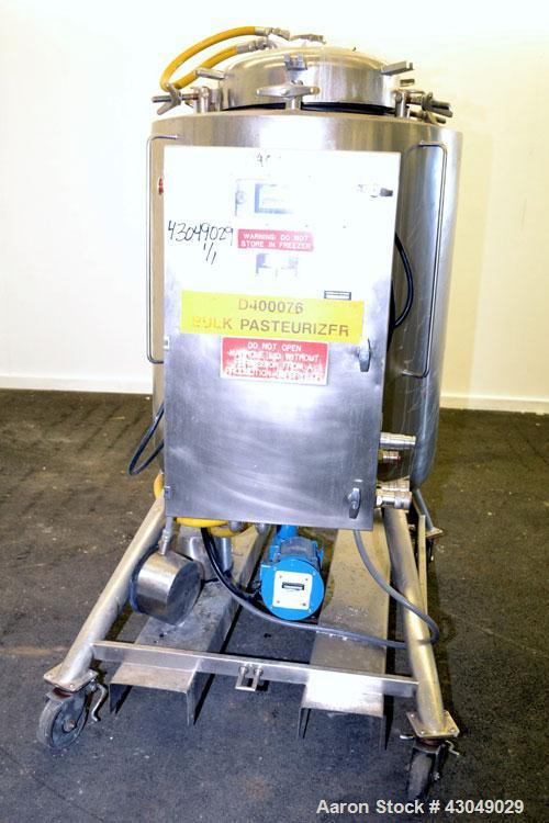 Used- 500 Liter Stainless Steel JV Northwest Pasteurization Reactor