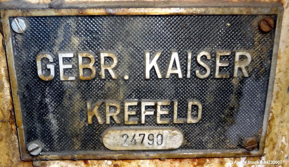 Used- 120 Liter Stainless Steel Gebr. Kaiser Reactor