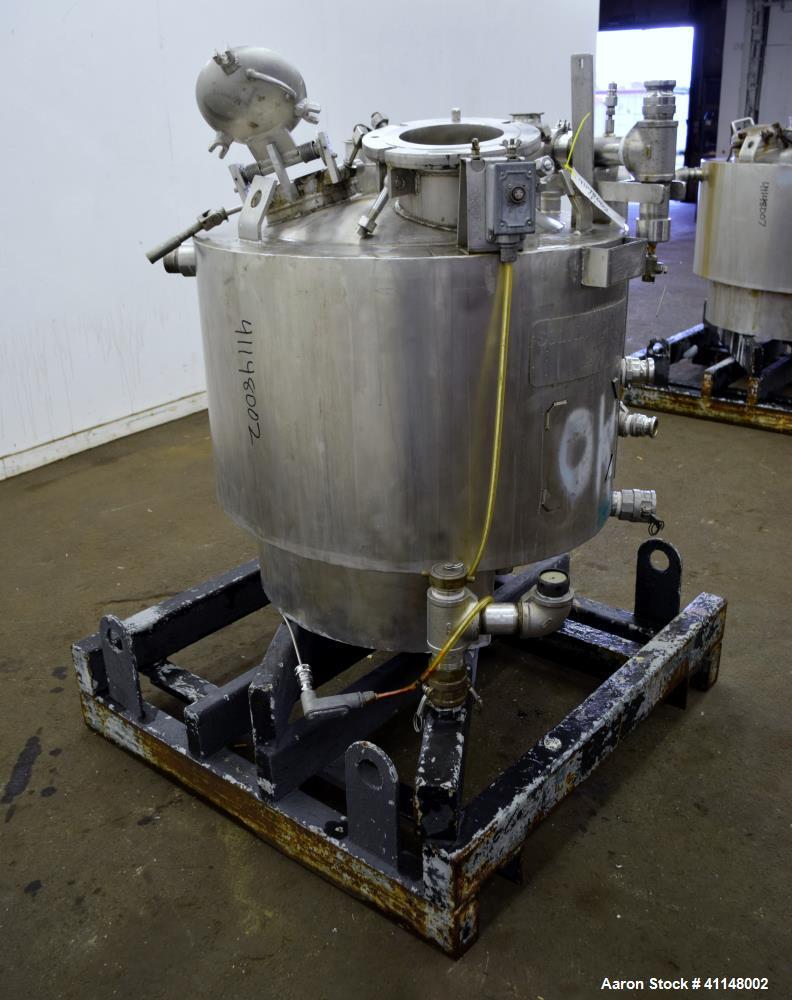 Used- 75 Gallon Stainless Steel Eastman Kodak Reactor