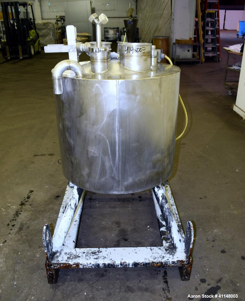 Used- 30 Gallon Stainless Steel Eastman Kodak Reactor
