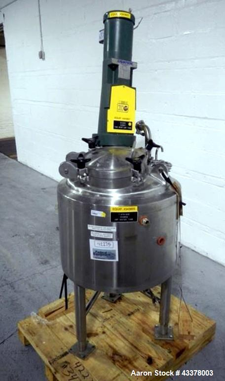 Used- 25 Gallon Stainless Steel Lee Reactor