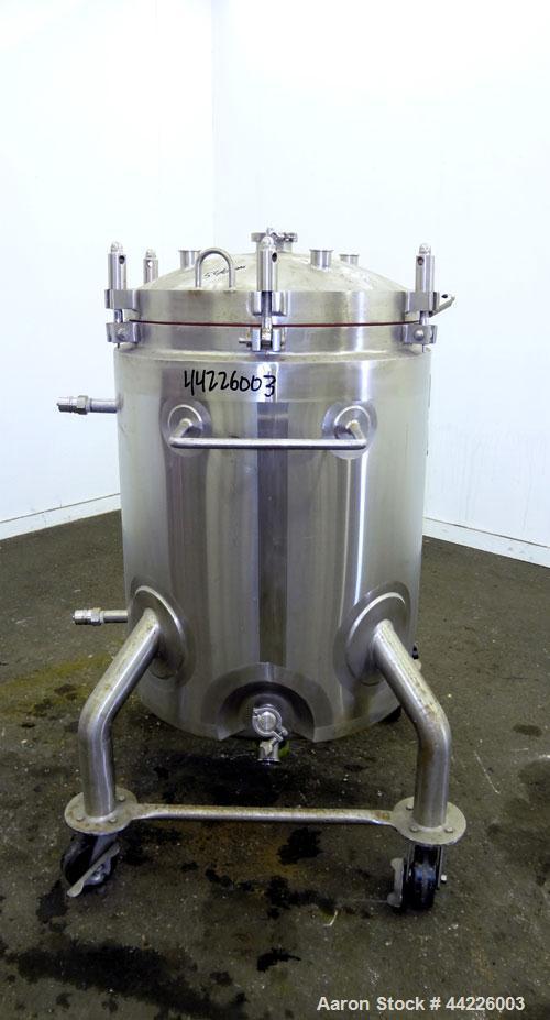 Used- 66 Gallon Stainless Steel Lee Industries Reactor, Model 250LU