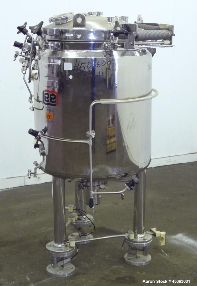 Used- 250 Liter Stainless Steel Lee Industries Reactor, Model 250LU