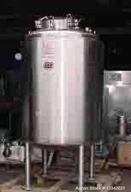 Used- 1,300 Liter Stainless Steel Lee Industries Reactor