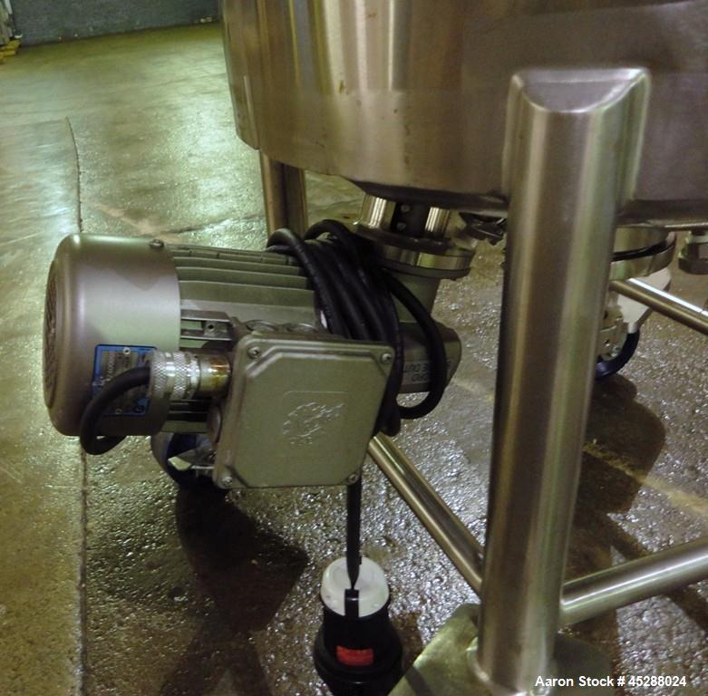 Used-  50 Liter Stainless Steel Lee Industries Reactor, Model 50LU