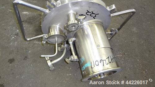 "Used- Lee Industries Reactor, 15.8 Gallon (60 Liter), Model 60UCB, 316 Stainless Steel, Vertical. Approximate 14"" diameter x..."