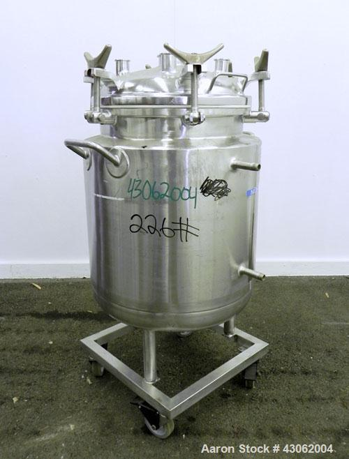 Used- 25 Gallon Stainless Steel Letsch Reactor
