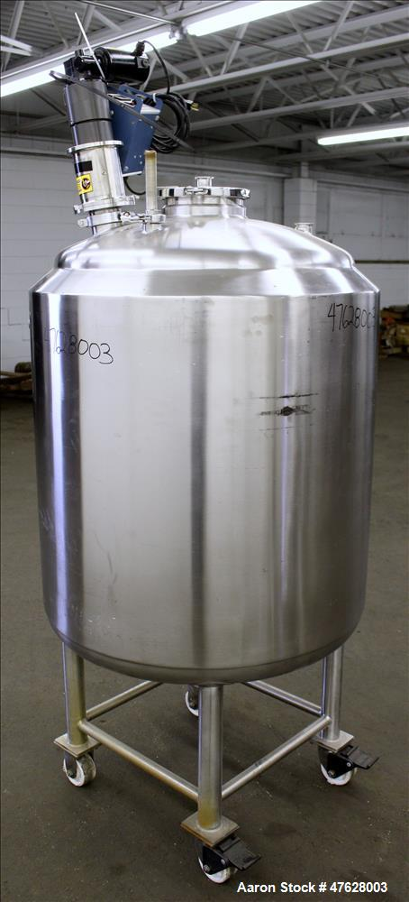 Used- Martin Peterson Company Reactor, 400 Liter (105.66 gallon), 316L Stainless