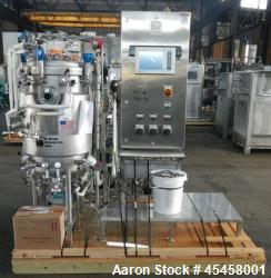 Used- 150 Liter Stainless Steel B. Braun Satorius Fermenter System, Model BIOSTA