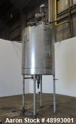 Used- Befco Reactor, 900 Gallon, 316 Stainless Steel, Vertical.