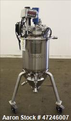 Used- Bulling Metal Works Reactor, 100 liter (26.4 Gallons), 316L Stainless Stee