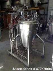 "DCI Reactor, 370 Liter (97.7 Gallon), 316L Stainless Steel, Vertical. 38"" Diameter x approximate 42..."