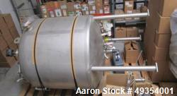 Used- DCI Stainless Steel Reactor, 2500 Liter Tank, Pressure Vessel. Includes: Pressure sensor, level sensor, bottom agitati...