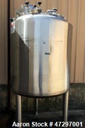 Feldmeier 1000 Liter Reactor. Stainless steel pressure vessel, 45 psi at 302 degrees F.Mfg. 1996.