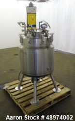 Used- Feldmeier Reactor, Approximately 50 Gallon, 316 Stainless Steel, Vertical.