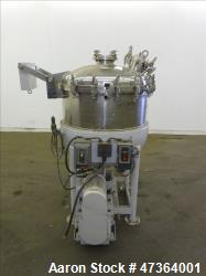 Used- T. Giusti & Son reactor, 50 gallon, 316 stainless steel, vertical
