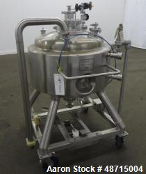 Used- Pure-Flo / ITT Reactor, 150 Liter (39.62 Gallon), 316L Stainless Steel