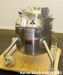 Used- Lee Industries Reactor, 31.7 Gallon (120 Liter), Model 120LU, 316L Stainle