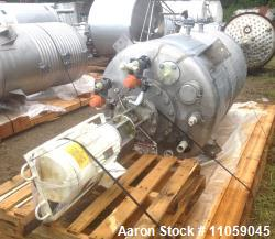Used- 600 Gallon Stainless Steel Lee Reactor/Kettle