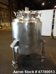 Used- Mueller Reactor, 700 Liter (184 Gallon), 316 Stainless Steel, Vertical