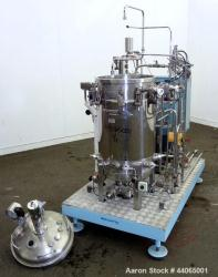 Used- Biolafitte Bio-Reactor Skid. Consisting of: (1) 30 Gallon Stainless Steel CDS Chaudronnerie Des Roches Reactor (3) 4 Blade Disc Turbines (4) Sidewall Baffles