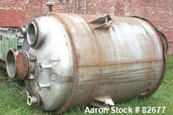 Used- 1350 Gallon Stainless Steel Tolan Reactor