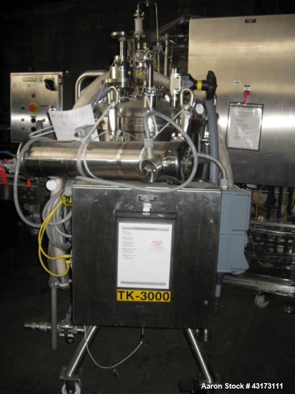 Used- 200 Liter Stainless Steel MPC Reactor