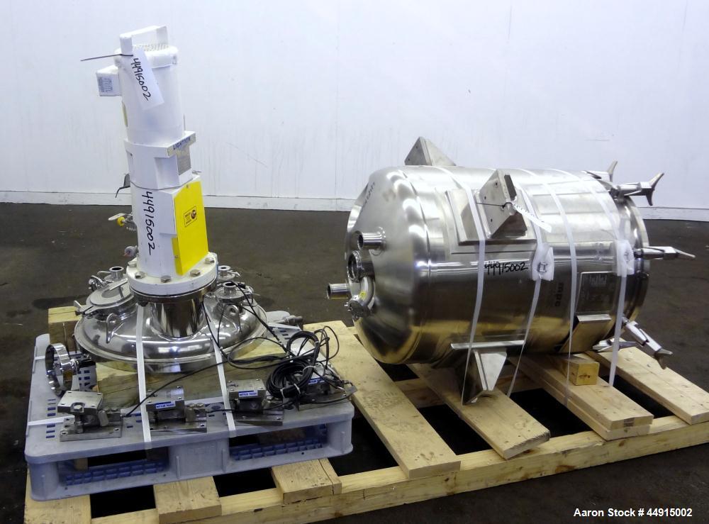 Used- 280 Liter Stainless Steel Martin Petersen MPC Reactor