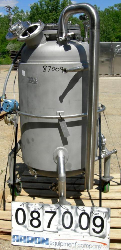 Used- 75 Gallon Stainless Steel Mueller Reactor, Model F-75
