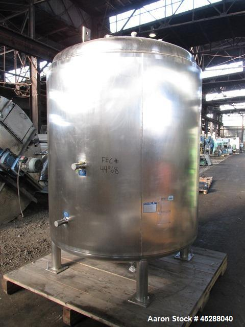 Used- 4000 Liter Stainless Steel Mueller Jacketed Tank